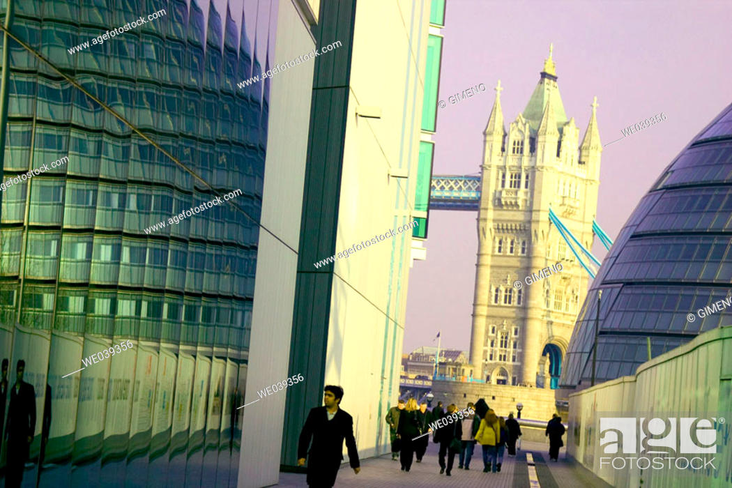 Stock Photo: Tower Bridge, London. England, UK.
