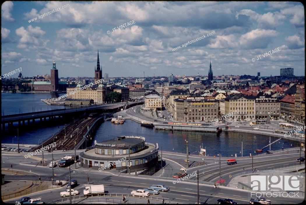 Imagen: Cityscape, Stockholm, Sweden, 1966.