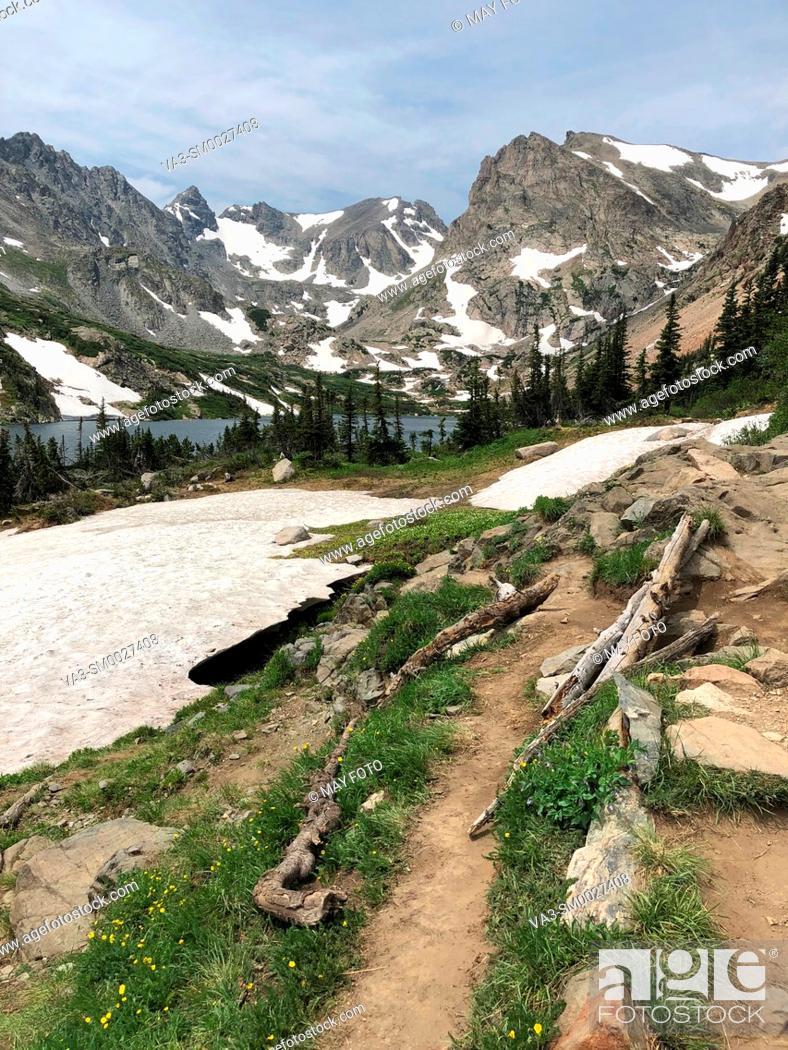 Imagen: Ward, Indian Peaks Wilderness, Colorado, United States.