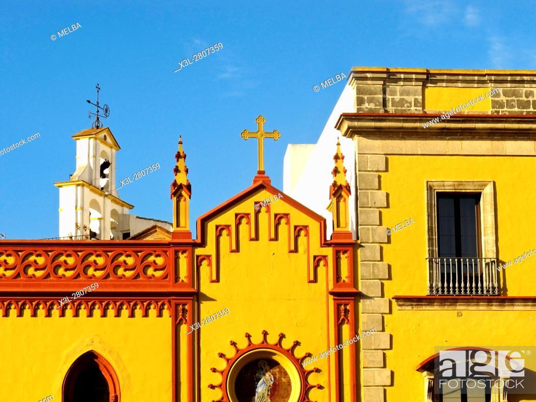 Stock Photo: Jerez de la Frontera house. Andalusia. Spain.