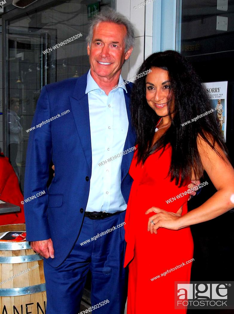 Celebrities attend 'The Real Greek' book launch at The Real Greek