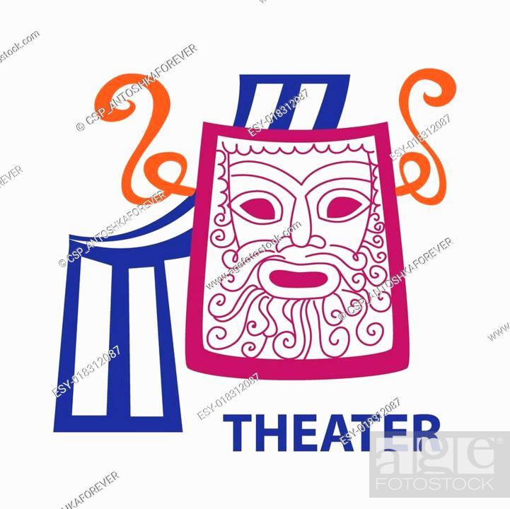 Vecteur de stock: theater.