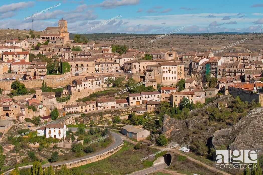 Imagen: Sepúlveda, Medieval Village, Segovia, Castilla y León, Spain, Europe.