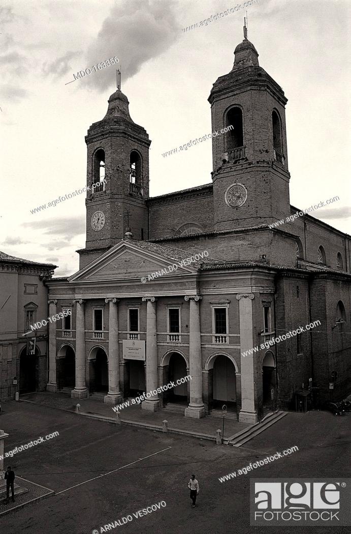 Imagen: Camerino Cathedral, by Andrea Vici e Clemente Folchi, 19th century, 1802-1832.