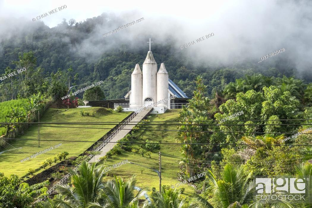 Photo de stock: Mount Hosanna chapel in Sri Aman town, Sarawak, Malysia.