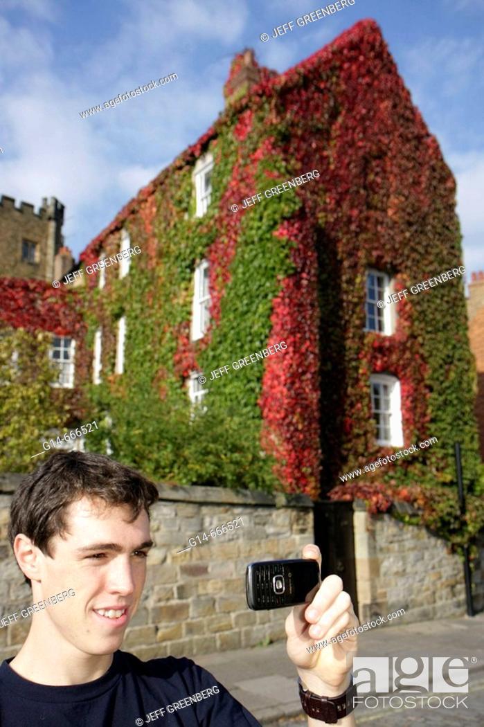 Uk England County Durham Durham City University College The