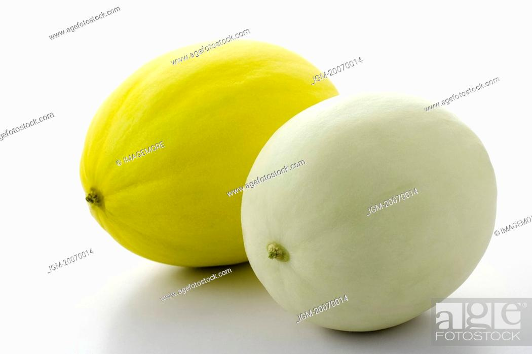 Stock Photo: Melon, Lanchow Melon.