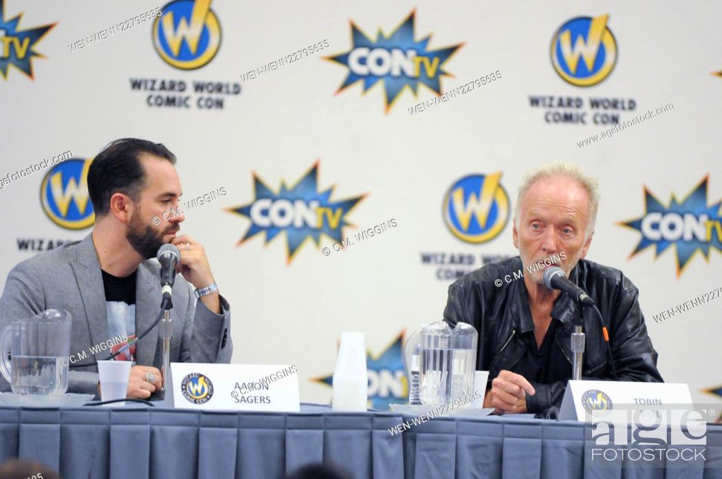 f8968c773 Stock Photo - Wizard World Comic Con Chicago 2015 at the Donald E ... .  Stephens Convention Center in Rosemont - Day 2 - Inside Featuring: Tobin  Bell Where: ...