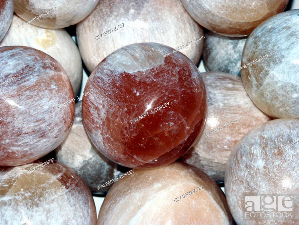Stock Photo: Alabaster sphere.