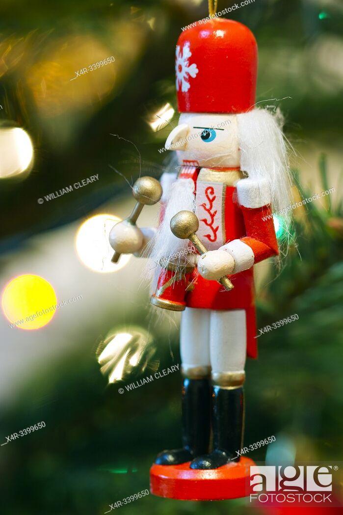 Stock Photo: Nutcracker Christmas decoration.