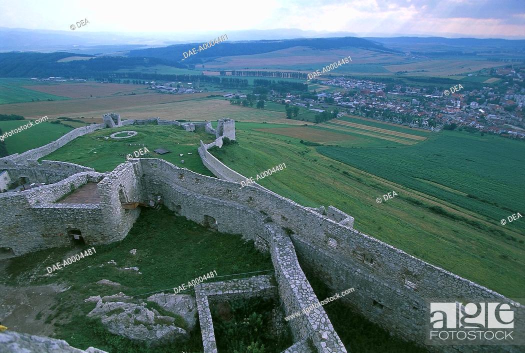 Slovakia - Prešov region - District of Levoca  Spis castle