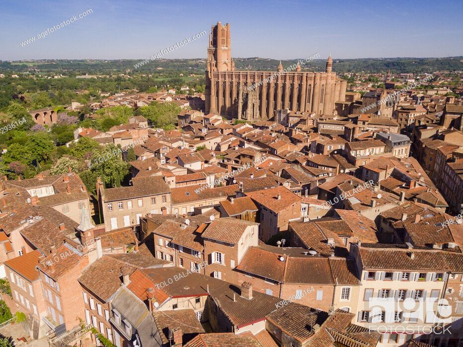 Stock Photo: Cathédrale Sainte-Cécile d'Albi, Albi, France.