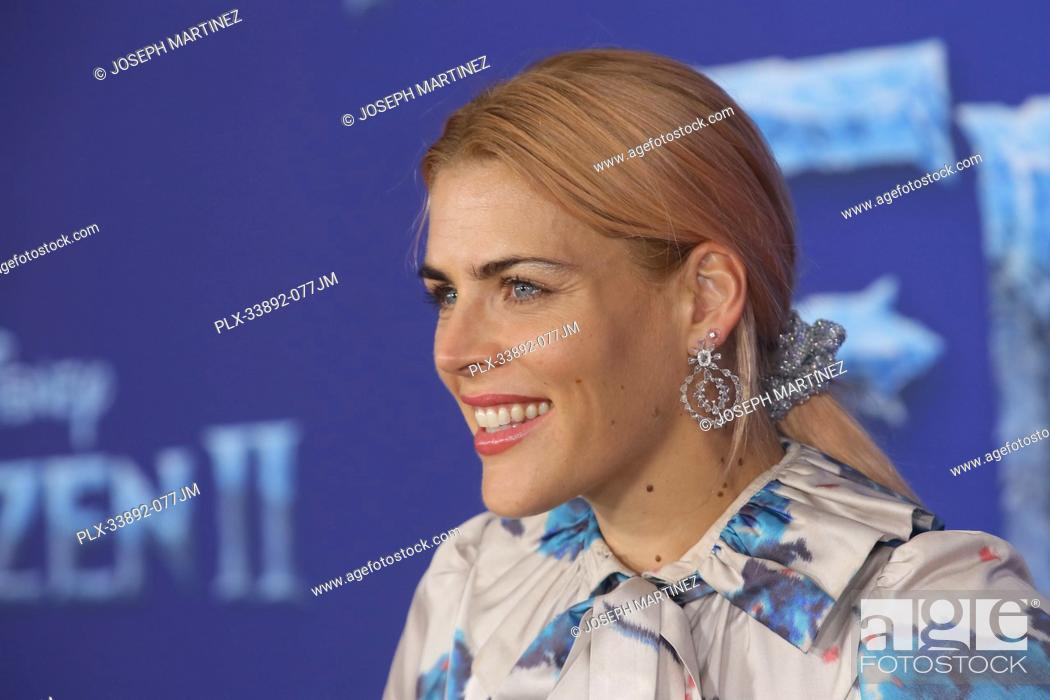 """Stock Photo: Busy Philipps at Disney's """"""""Frozen II"""""""" World Premiere held at the Dolby Theatre in Hollywood, CA, November 7, 2019. Photo Credit: Joseph Martinez / PictureLux."""