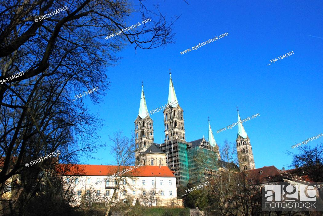 Stock Photo: Bamberg Cathedral.