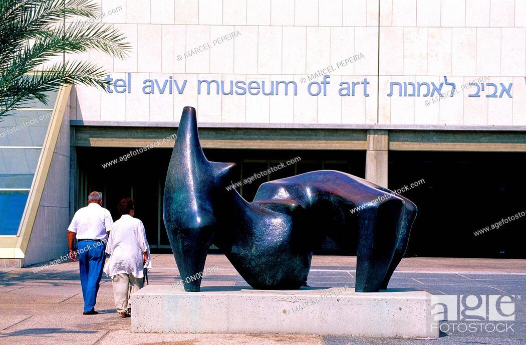 Imagen: Israel, Tel Aviv, museum of modern art.