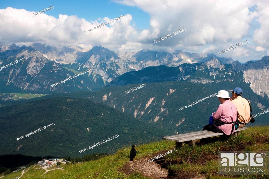 Stock Photo: Austria, Tirol, Mountains.