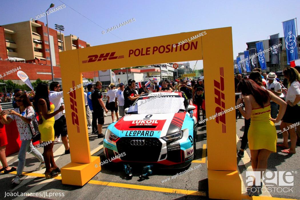 Stock Photo: G. Schedden, Audi RS3 LMS #52, WTCR Race of Portugal, Vila Real 23-25 de June 2018.