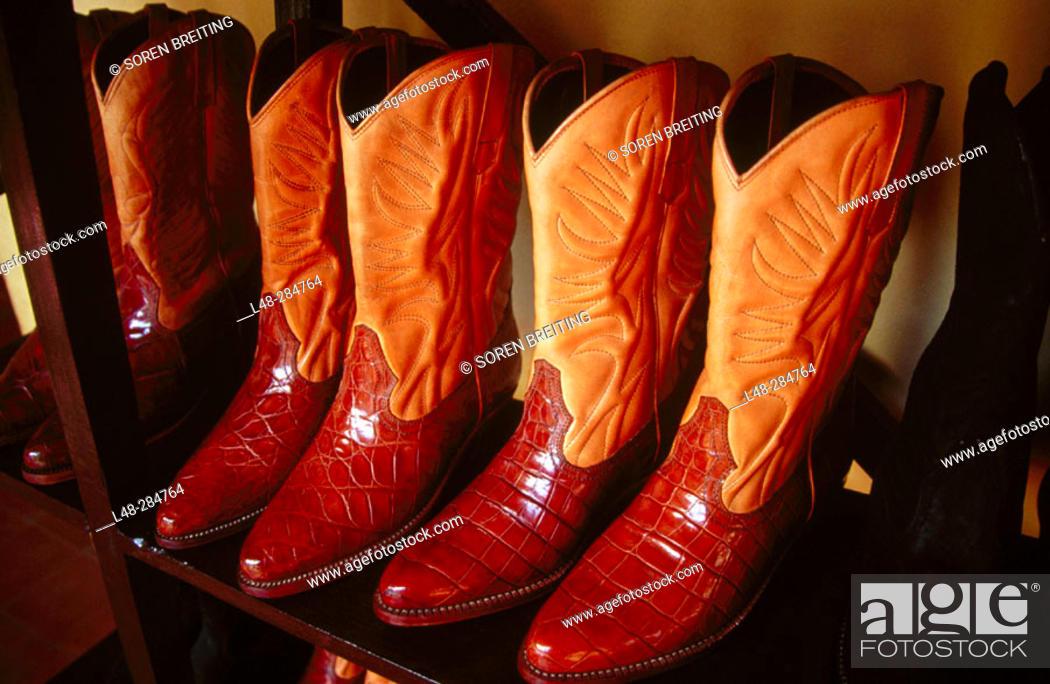 Stock Photo: Traditional Boots. Granada, Nicaragua.