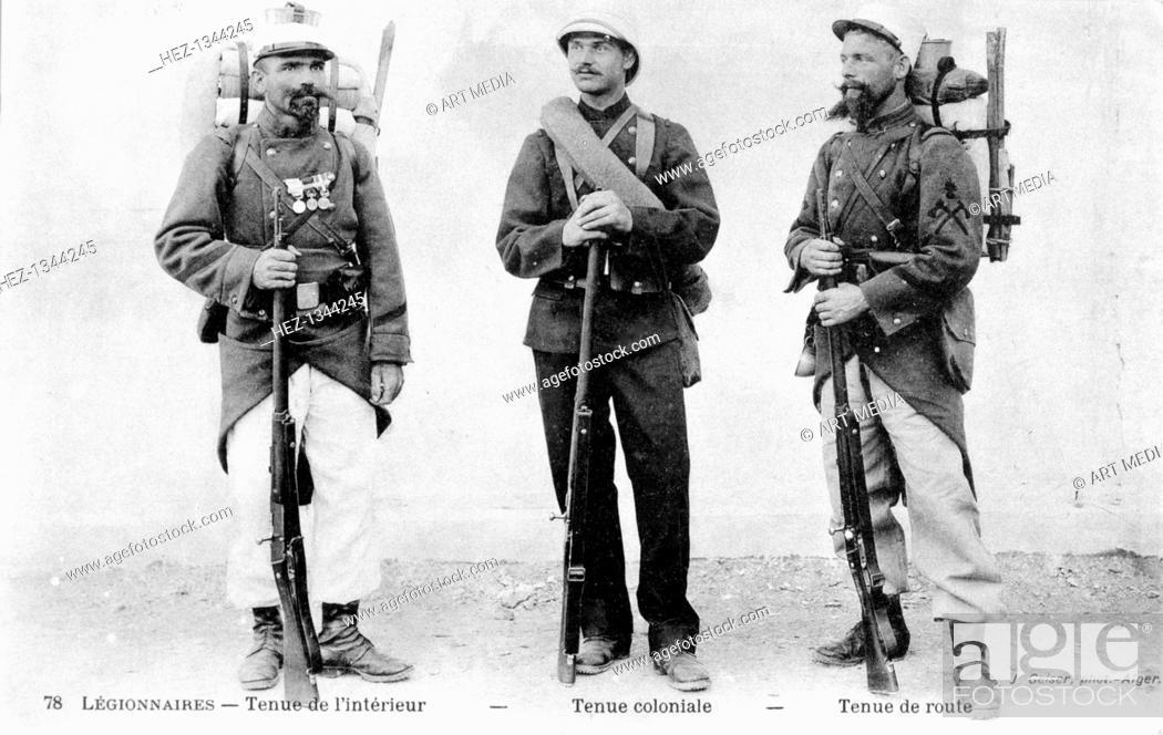 Stock Photo: Legionnaires, Algeria, 20th century.