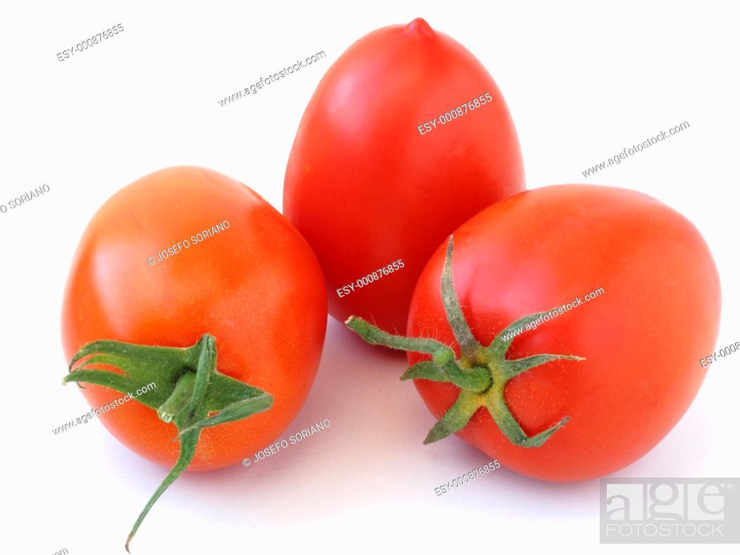 Stock Photo: Raw Tomatoes,.