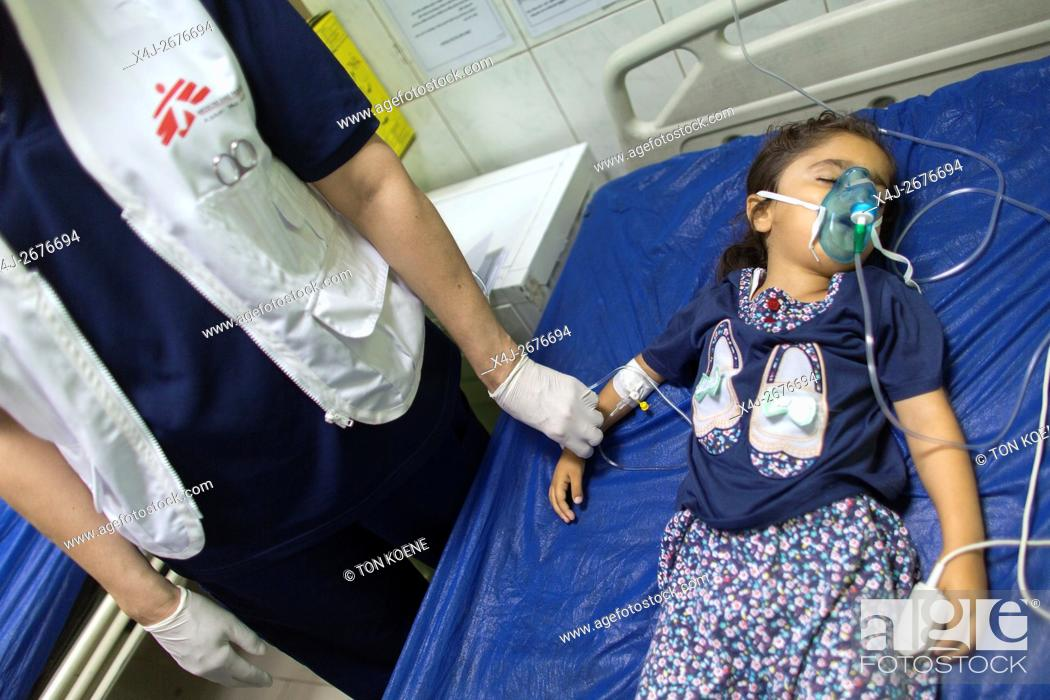 Photo de stock: Emergency room at Sulaimaniya hospital, Iraq.