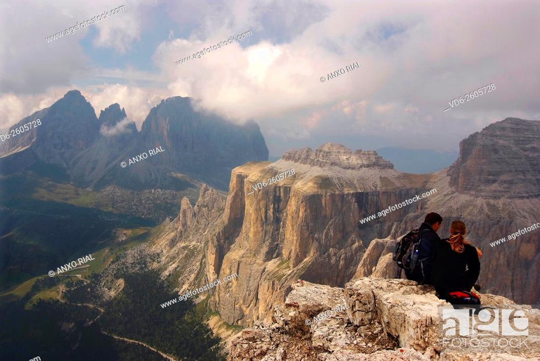 Stock Photo: Italy. Trentino-Alto Adige. Italian Tyrol. Dolomites.