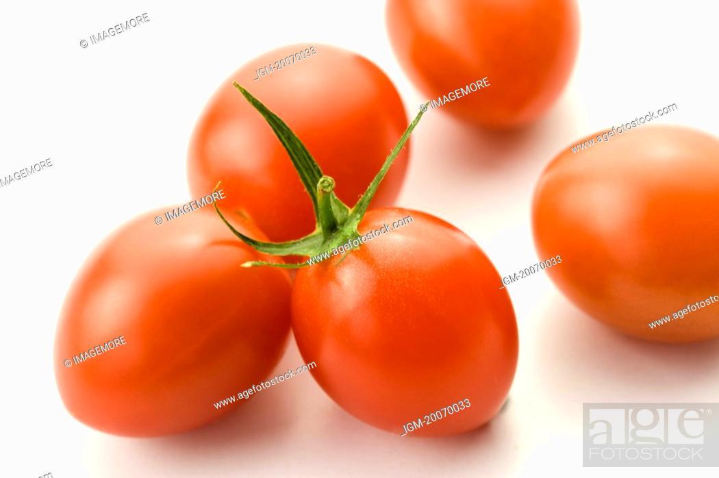 Stock Photo: Cherry Tomatoes.