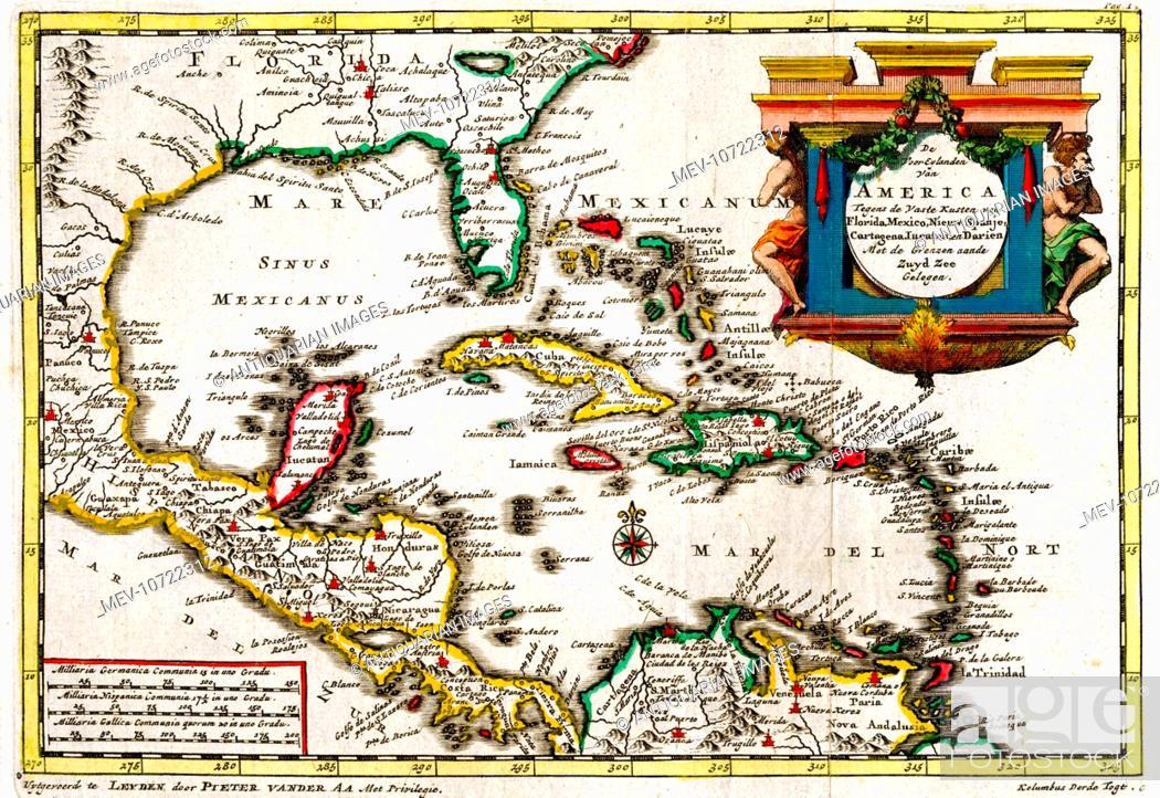 Map Of America Gulf Coast.18th Century Map Of The Gulf Of Mexico Showing Florida Gulf Coast