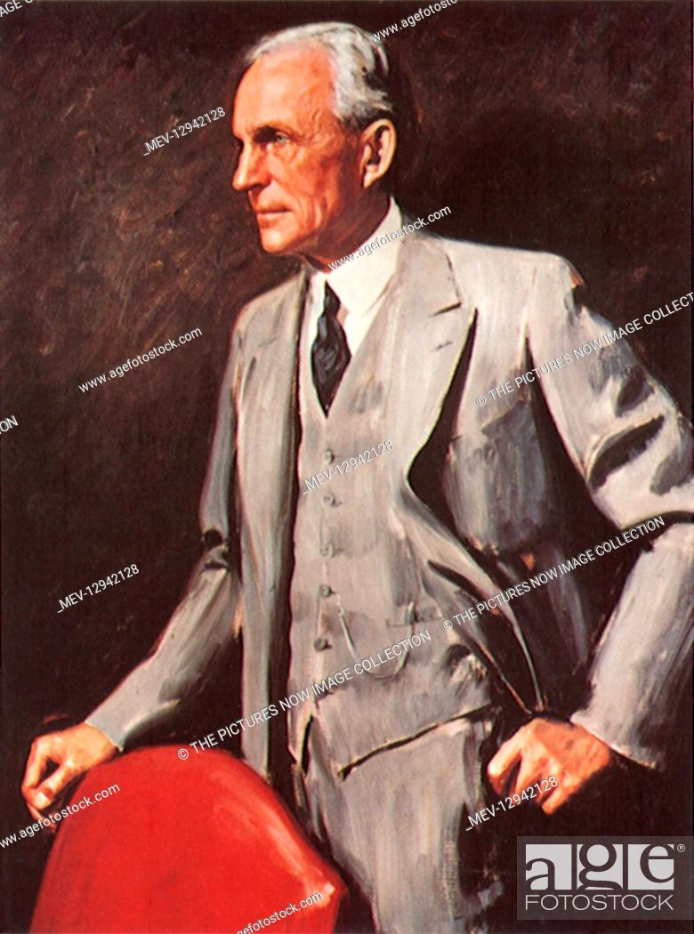 Stock Photo: Henry Ford.