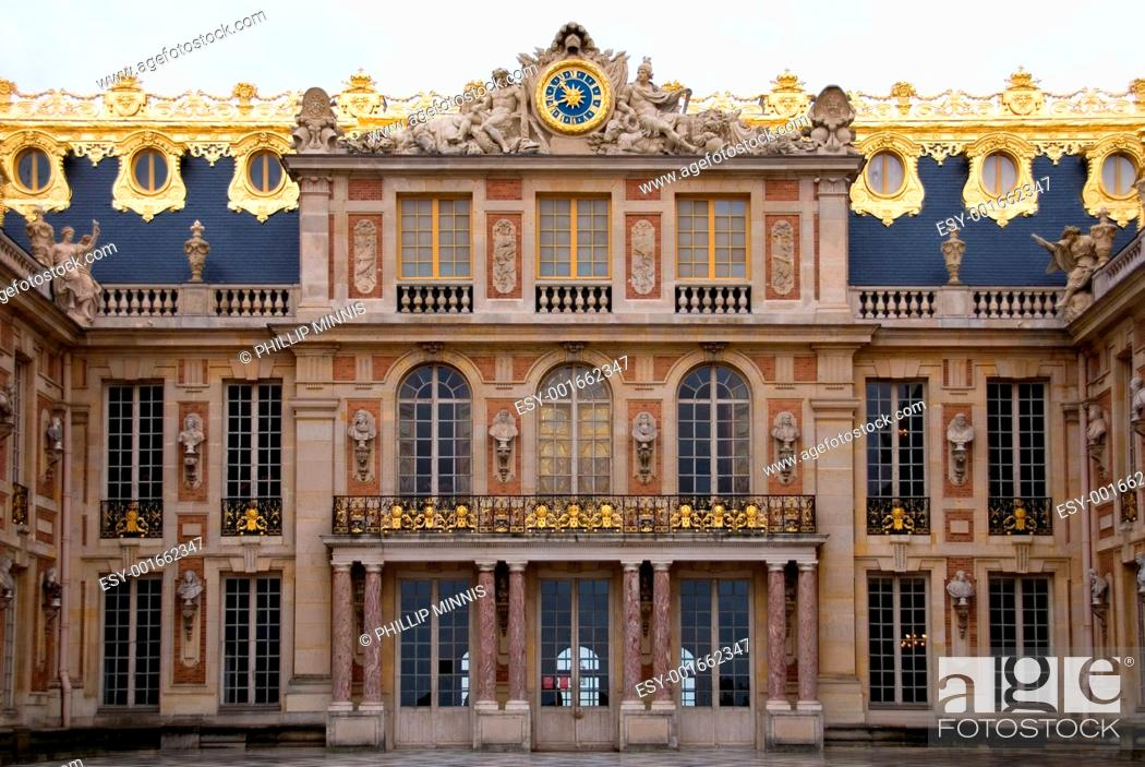 Stock Photo: Palace of Versailles.