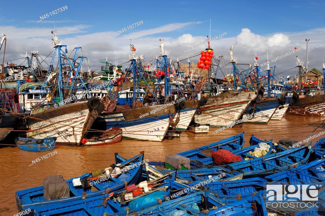 Stock Photo: Essaouira; Harbour; Morocco.