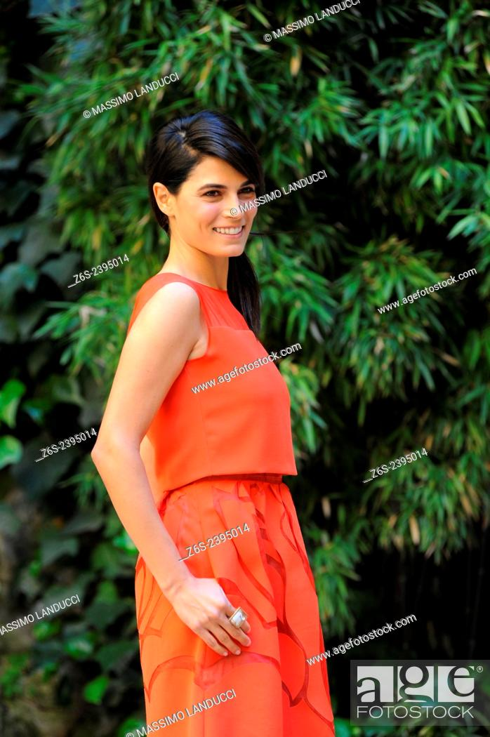 Stock Photo: Valeria Solarino; Solarino; actress; celebrities; 2015;rome; italy;event; photocall; la scelta.
