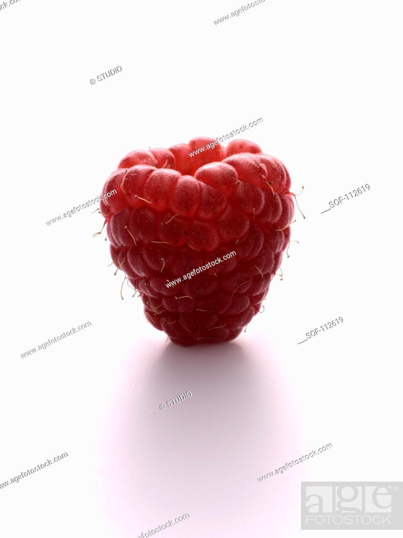 Stock Photo: Raspberry.