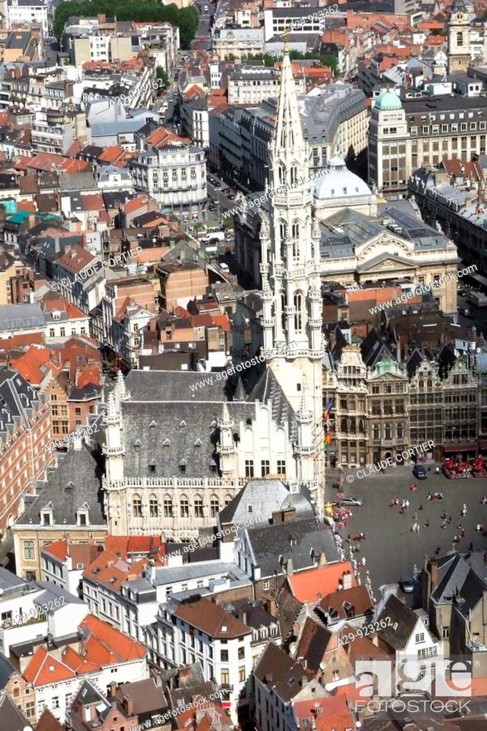 Stock Photo: Grand Place, Brussels, Belgium.