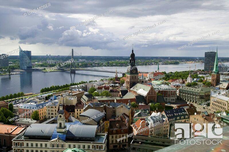 Stock Photo: Riga, Hauptstadt von Lettland.