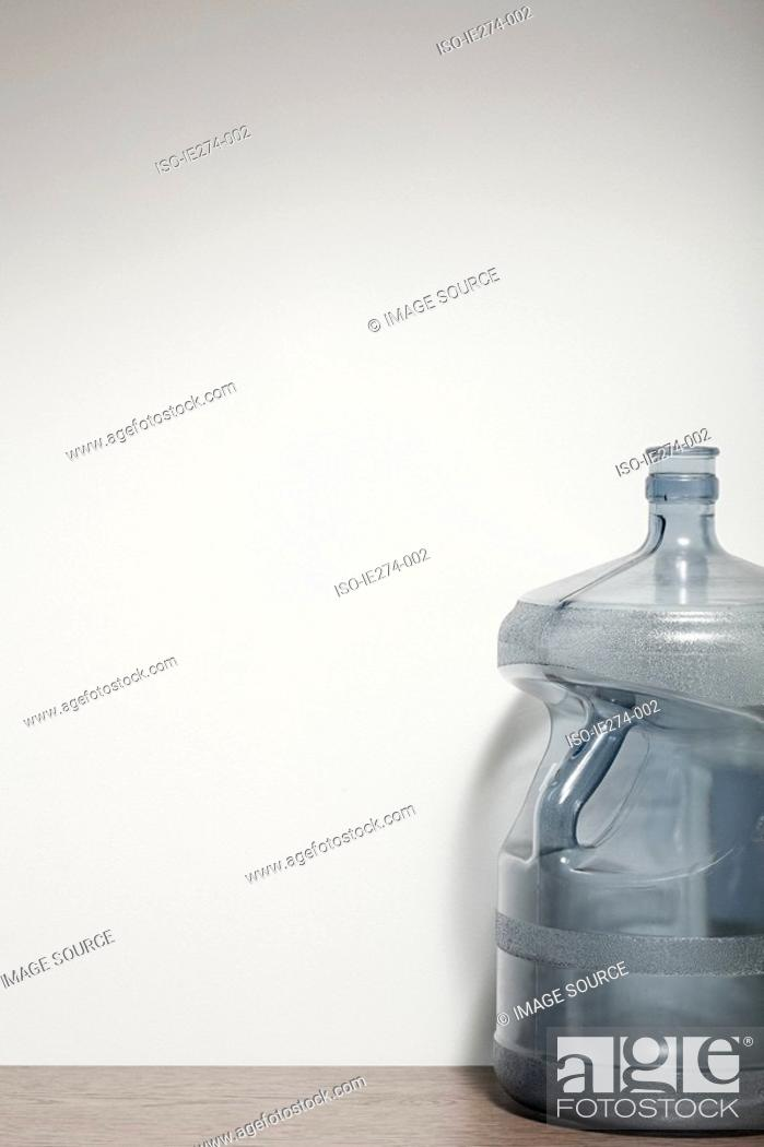 Stock Photo: Water cooler bottle.