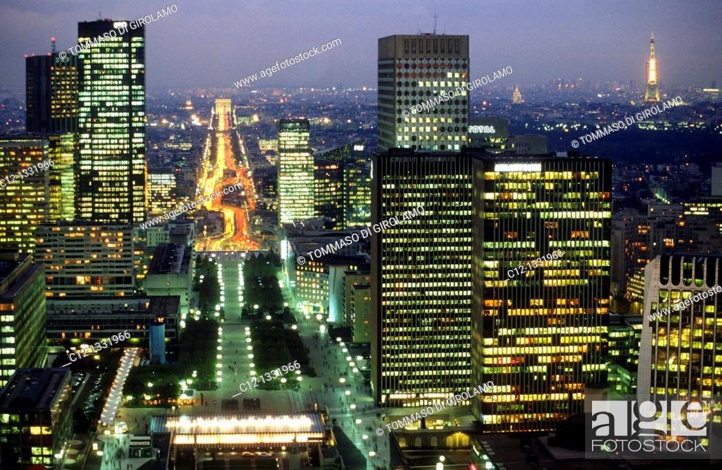 Stock Photo: Paris, la defense.