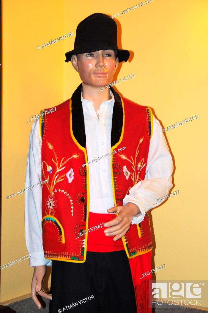 Stock Photo: Costume Museum in Tourist House in La Orotava, Tenerife, Canary Islands, Spain.