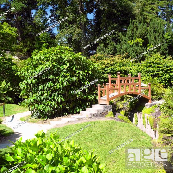 Stock Photo: Japanese Garden, Powerscourt Gardens, County Wicklow, Ireland.