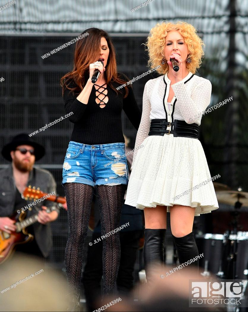 Stock Photo: 1st annual Kiss 99.9 Chilli Cookoff at CB Smith Park Featuring: Karen Fairchil, Kimberly Roads Schlapman of Little Big Town Where: PEMBROKE PINES, Florida.