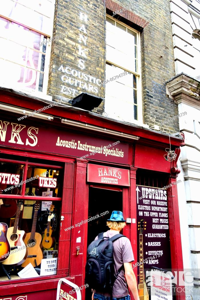 Denmark Street, Since the 1950s it has been associated with