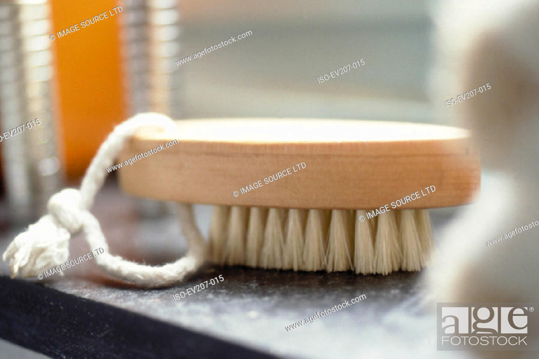 Stock Photo: Nailbrush.