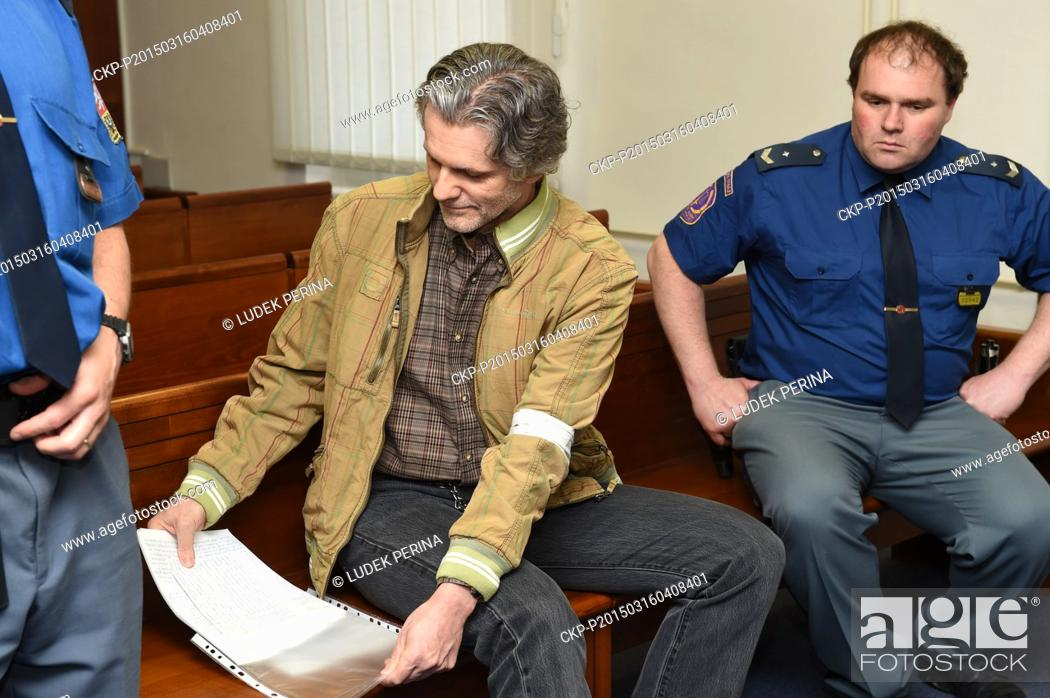 Appeals court proceedings with Pavel Torma (left) who was sentenced