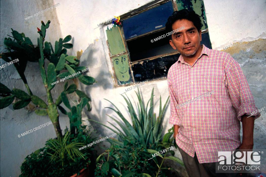 Stock Photo: Maximino Javier. Oaxaca. Mexico.