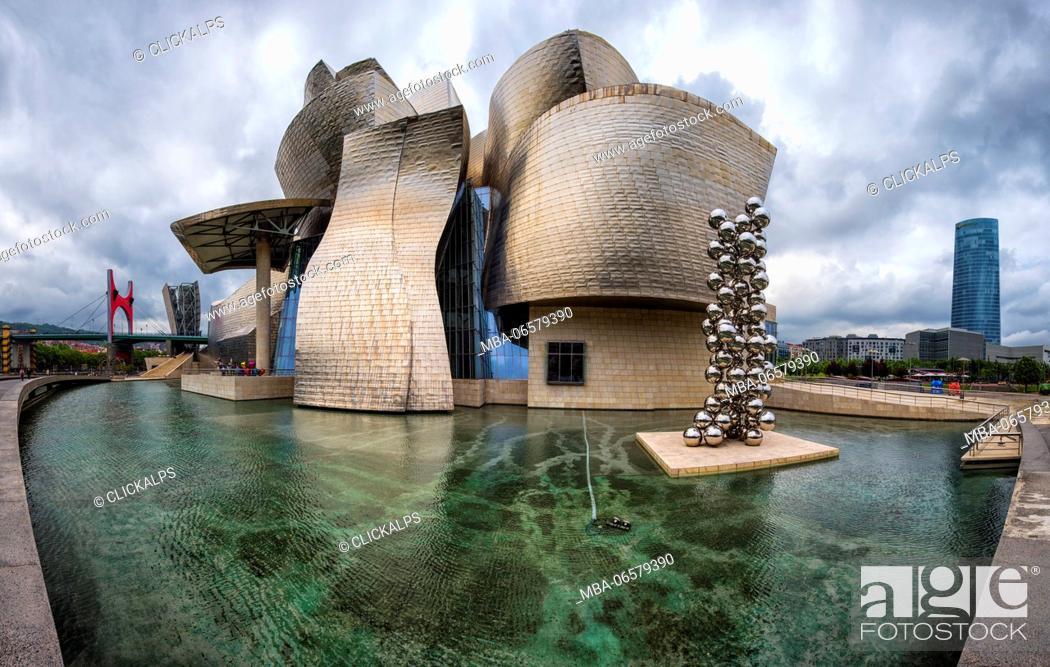 Photo de stock: Bilbao-Spain Museum Guggenheim.