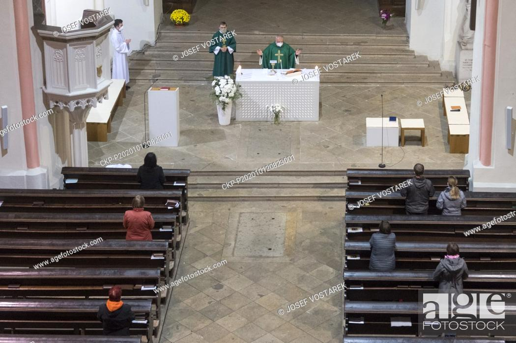 Stock Photo: Attendance at church events must not cross 10 amid state of emergency starting as of Oct 12 due to COVID-19. Church events should not include singing.