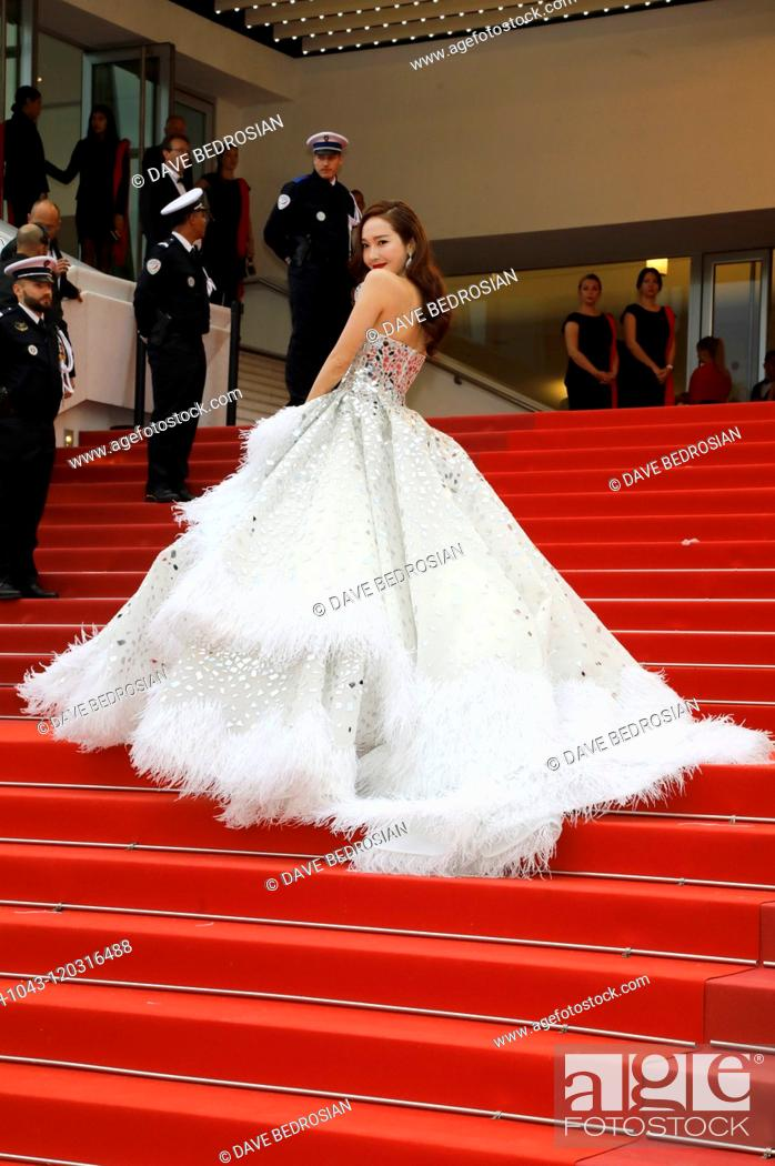 Jessica Jung attending the opening ceremony and screening of