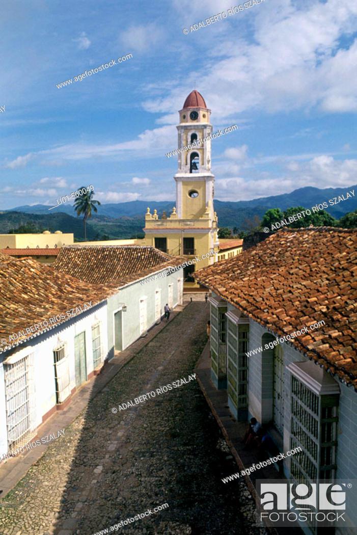 Stock Photo: Trinidad Cuba.