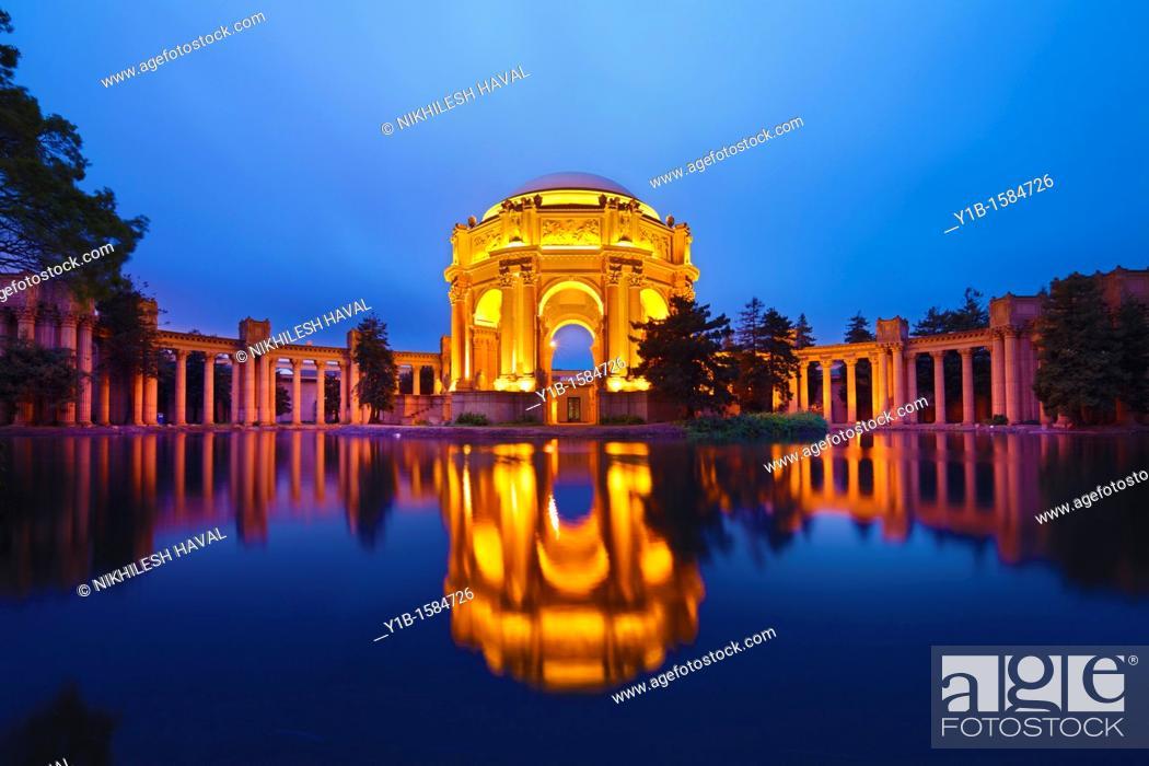 Photo de stock: Palace of Fine Arts, San Francisco.