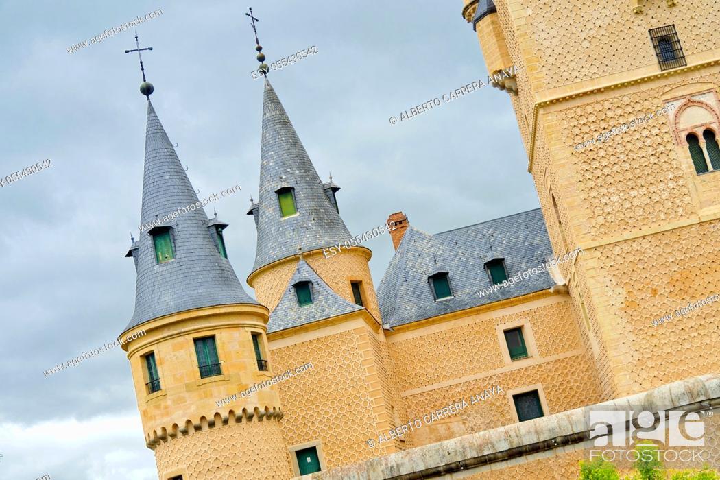Imagen: Alcázar of Segovia, Segovia, UNESCO World Heritage Site, Castilla y León, Spain, Europe.